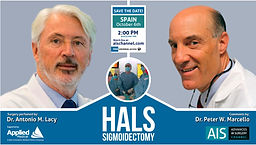 Live Surgery: HALS Sigmoidectomy