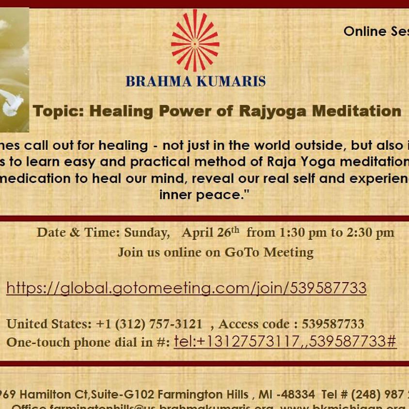 Healing Power of Rajyoga Meditation - BRAHMA KUMARIS