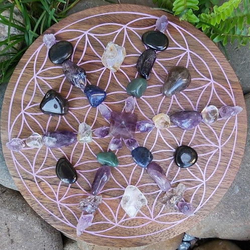 Just Chill Crystal Grid