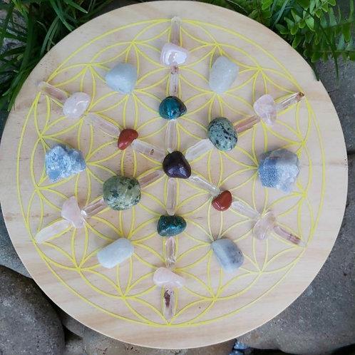 Children's Crystal Grid