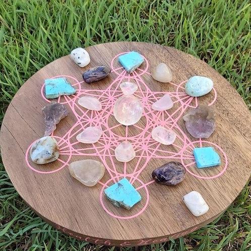 Health & Healing Crystal Grid