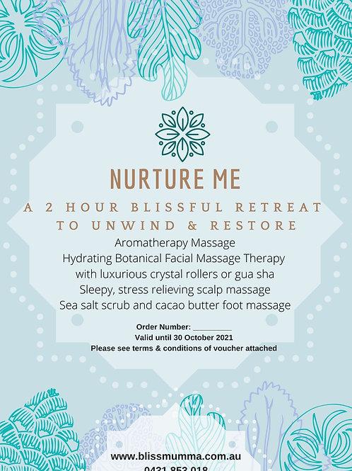 $199 e-voucher 'Nurture Me'