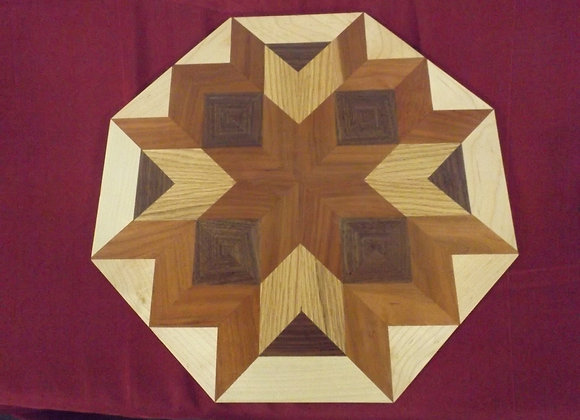 WOODEN QUILT PATTERN BOARD