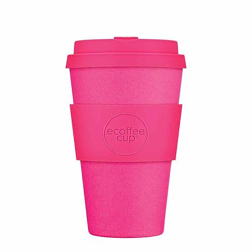 Ecoffee Cup Pink'd 14oz