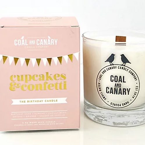 Coal and Canary Cupcakes and Confetti