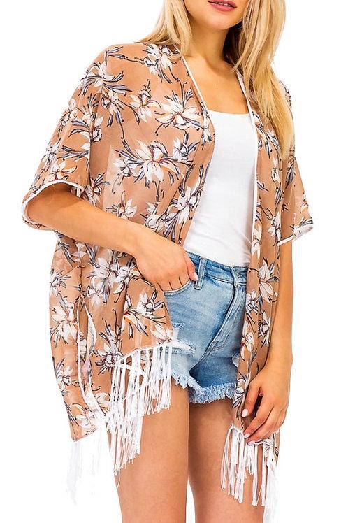 Tan Kimono