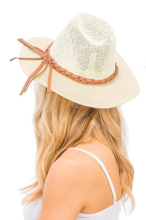 Cream Summer Fedora