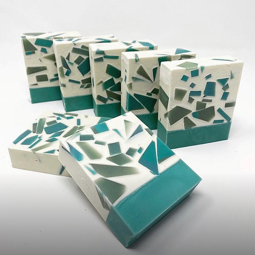 Seaglass Soap By Pine & Peony Co.