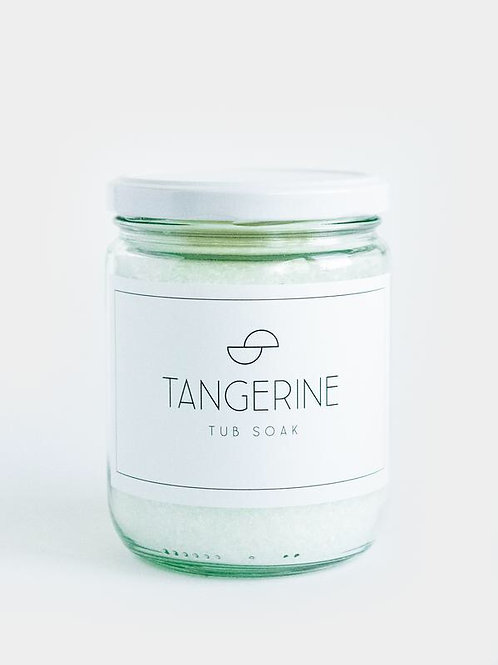 Tangerine Tub Soak