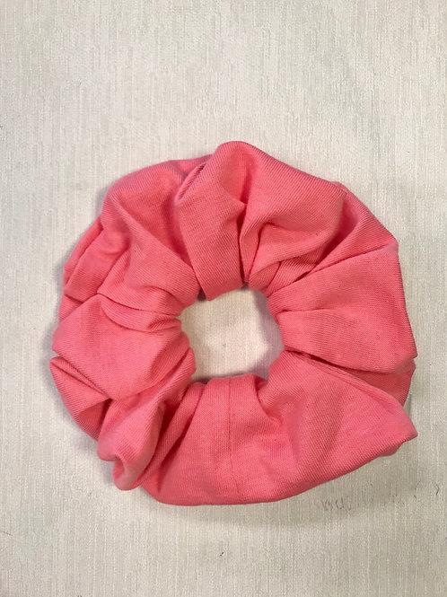 Bubble Gum Pink Scrunchie