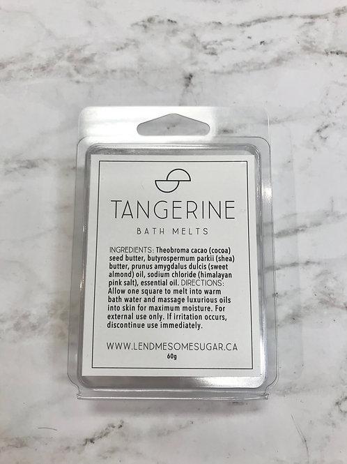 Tangerine Bath Melts