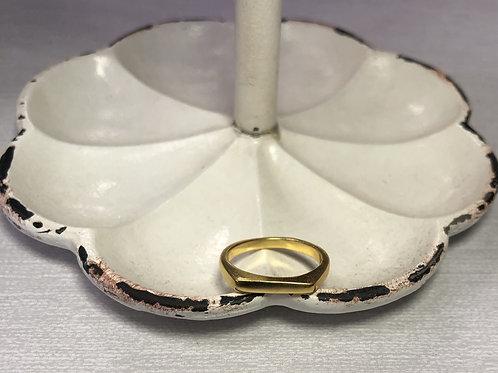 Mini Gold Bar Ring
