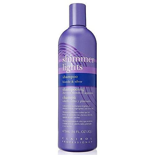 Shimmer lights purple shampoo