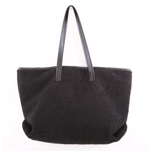 Black Teddy Tote Bag