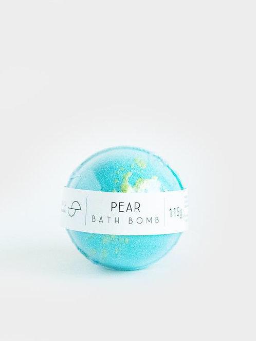 Pear Bathbomb