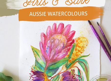 Arts and Bark - Watercolours