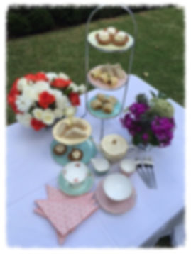 wedding bridal high tea