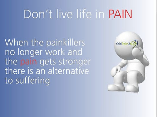 dont live in pain