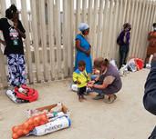 rialien für Kinder im Armenviertel DRC