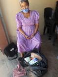 Großmutter in Walvis Bay