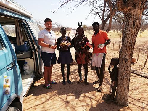 Besuch der Himba