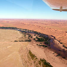 Rundflug: Namib & Meer