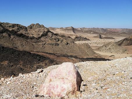 Geologie der Namib-Wüste