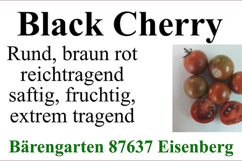 Tomaten klein - Black Cherry