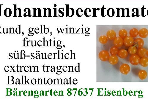 Tomaten klein - Johannisbeertomate gelb