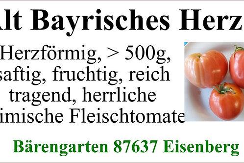 Tomaten groß - Alt-Bayrisches Herz