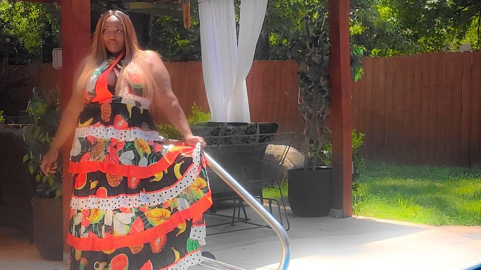 Chiquita tropical dress
