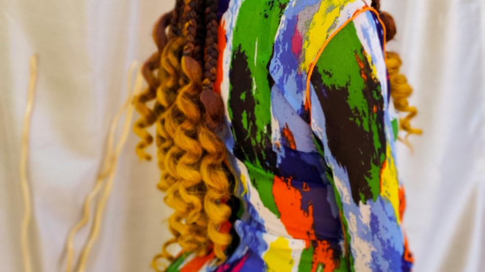 Kaleida maxi dress