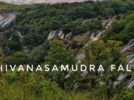 The Majestic falls of Shivanasamudra
