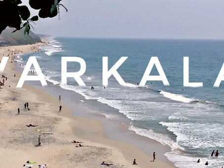 Varkala - A Cliffside Beach