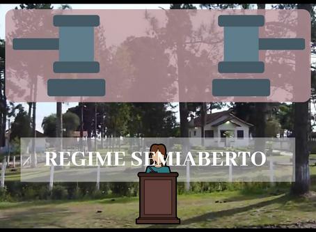 PENA ABAIXO DE 8 ANOS E O REGIME SEMIABERTO