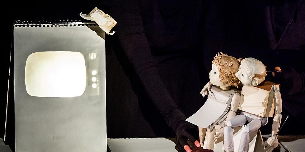 """Ateliers Marionnettes / """"Vent Debout"""" - Cie Des Fourmis dans la Lanterne"""