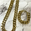 Thumbnail: Chunky Gold Chain (Necklace, Bracelet or Set)