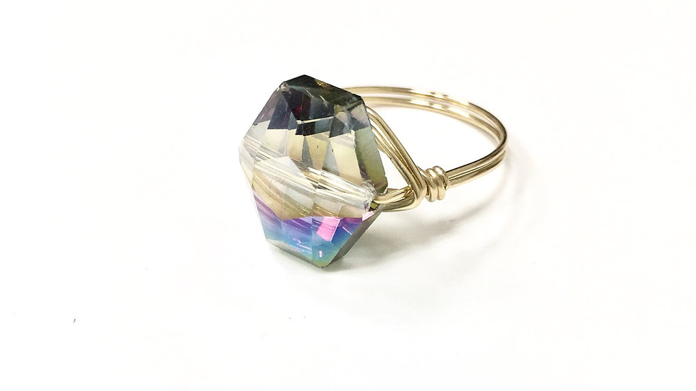 Gold Filled Wire Wrapped Ring