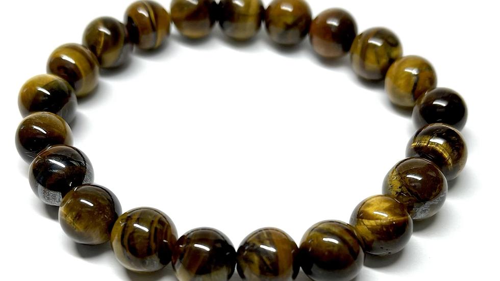 Men's Brown Tigereye Bracelet