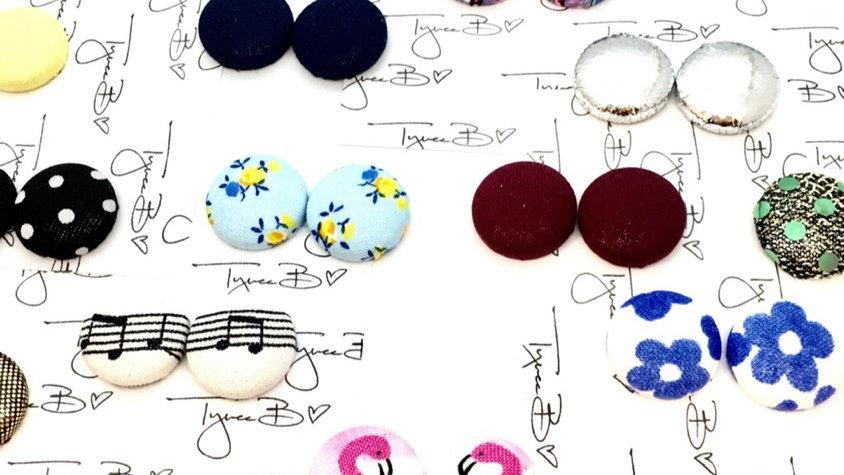 Button Earrings Wholesale Order