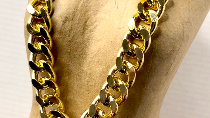 Chunky Gold Chain (Necklace, Bracelet or Set)
