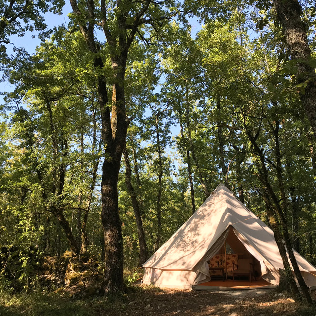 woodland bell tent