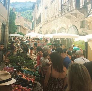 St Antonin Sunday market