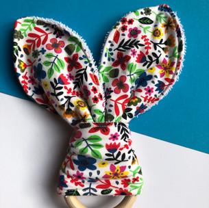 Flower Bunny Teether