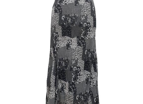 Per una Black patterned skirt UK 18Reg