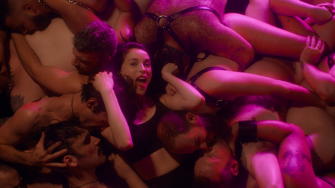 St Vincent tries on 50 shades of GAY...