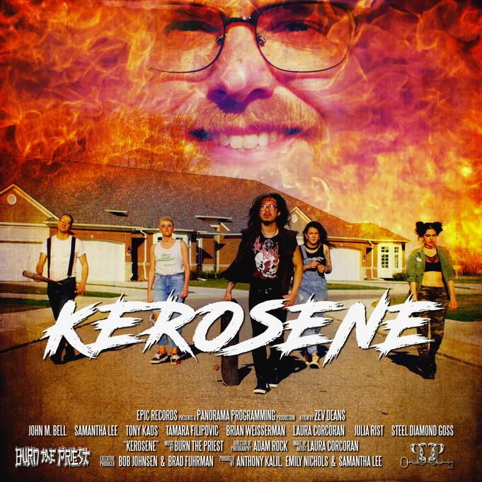 """Channeling 'Suburbia' for Burn the Priest's """"Kerosene"""""""