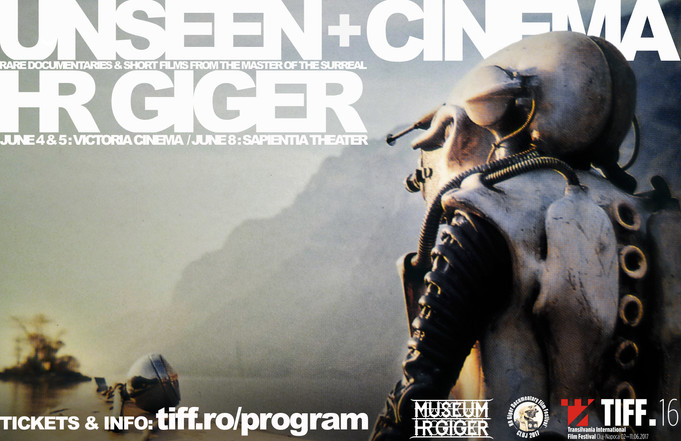 HR GIGER Film Festival brought to Transilvania for TIFF16, by Leslie Barany & Zev Deans