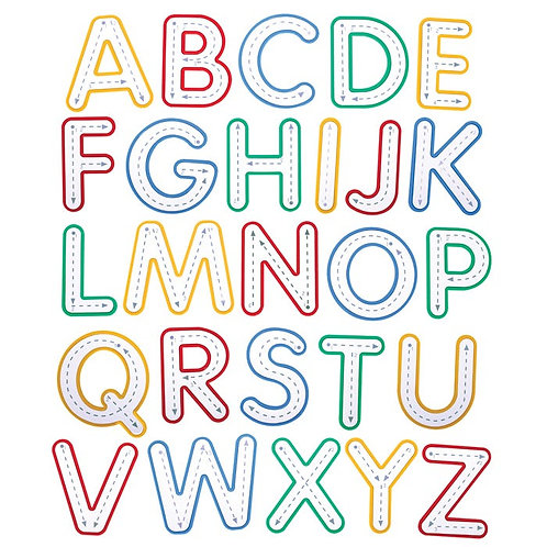 Write and Wipe Letters Uppercase