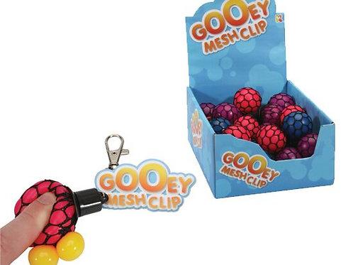 Grape Mesh Fidget Ball Keyring